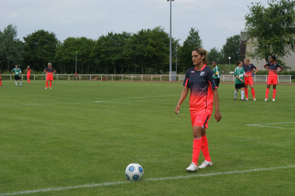 Footballeuse française Louisa Nécib